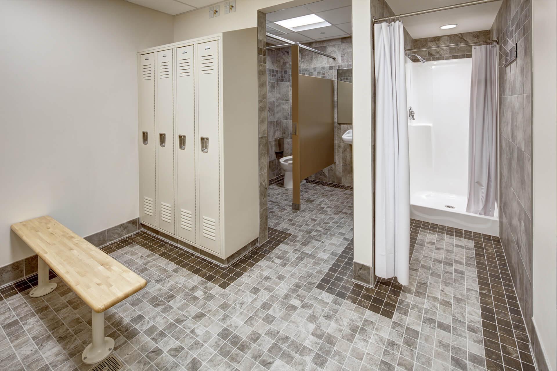 Elizabeth Fire House 6 Locker Room