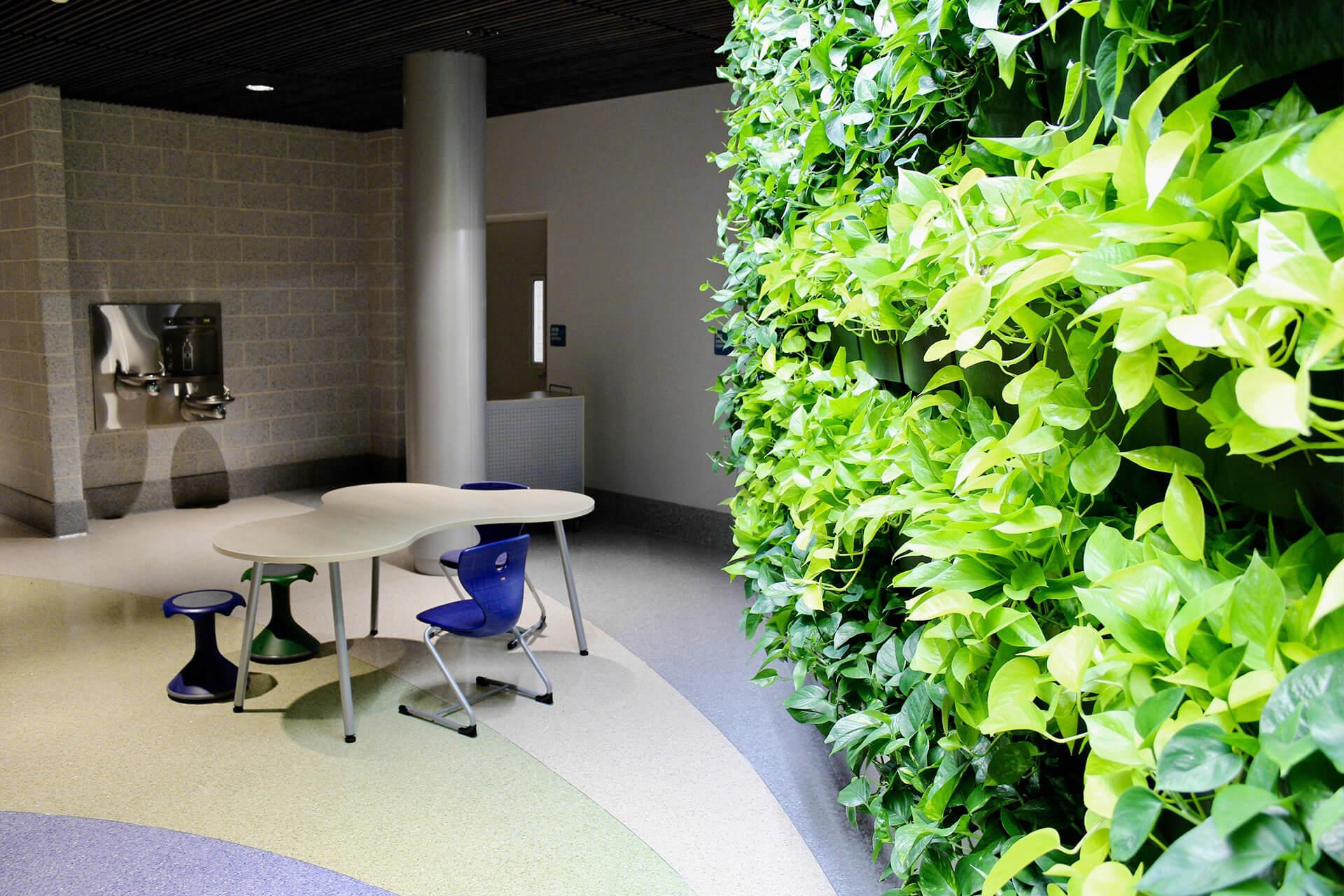 North Hanover-Endeavor-Plant-Wall