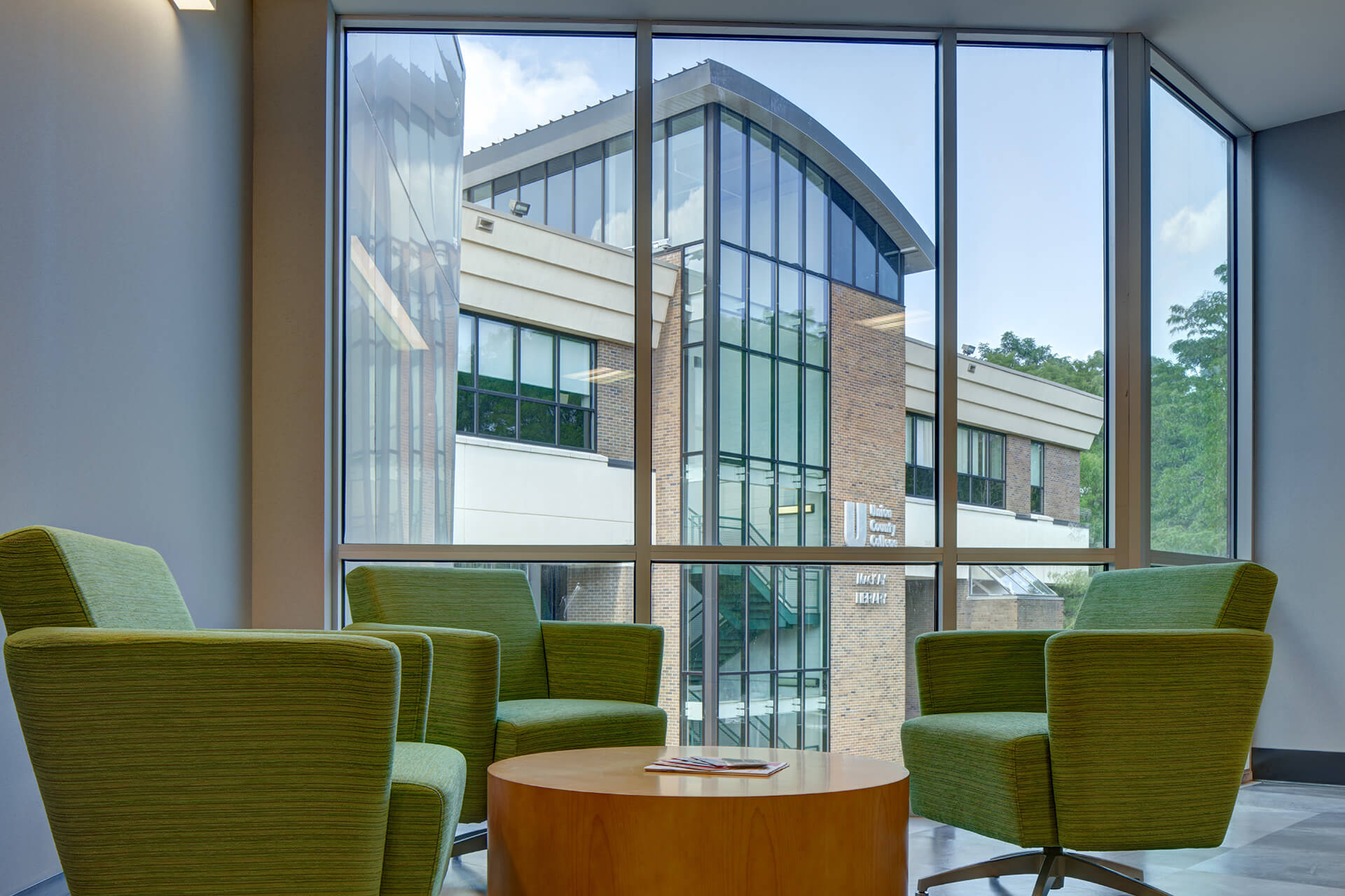 UCC Student Services Center Seating