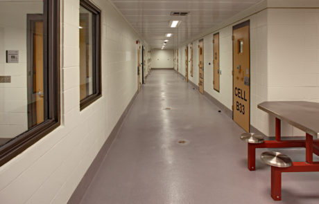 Donald M. Payne Police Headquarters Cells