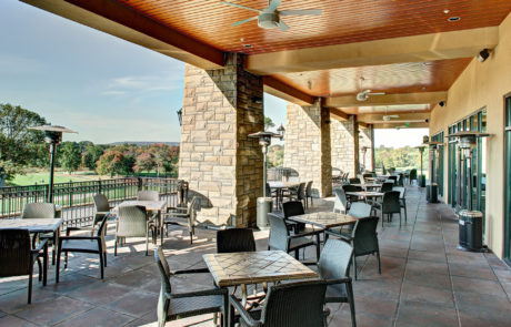 Galloping Hill Golf - Outside Dining