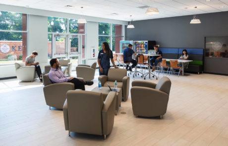 Kean University Student Housing Lounge