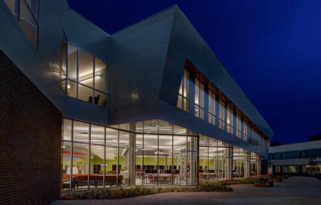 UCC Student Services Center Exterior