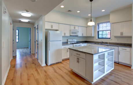 Kean University Faculty Housing Kitchen