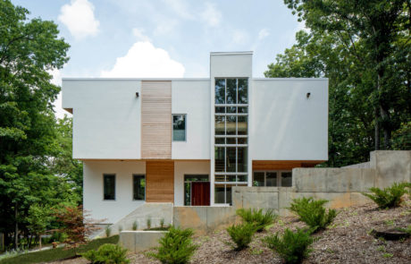 Custom Modern Home Exterior